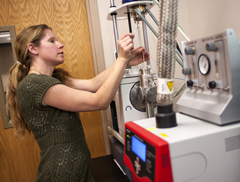 thermal gravimetric analysis at Montana State University