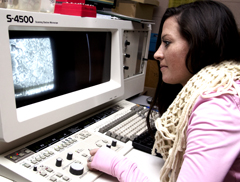 Montana Tech field effect scanning electron microscope